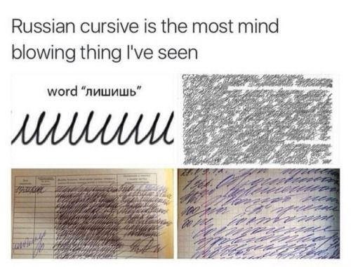 Its the most pain in the ass/best thing ever while learning Russian