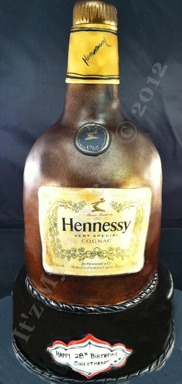 33 Best Cakes Of Bottle Images On Pinterest Bottle Cake Hennessy