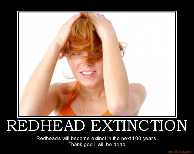 Extinction of redhead the