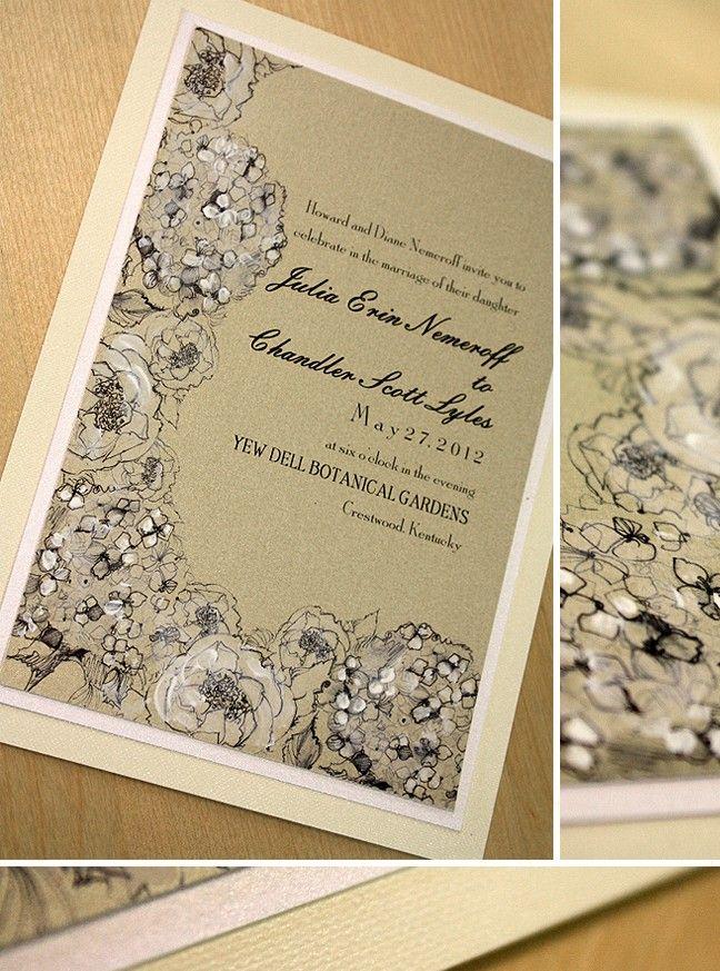 30 best Wedding Invitations images on Pinterest | Wedding stationery ...