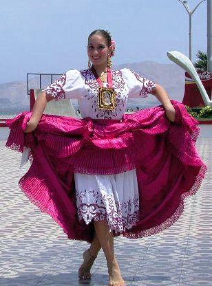 Национальный танец Перу - романтическая «Маринера»   Статьи о Перу