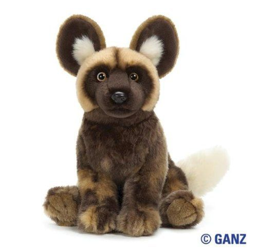 Webkinz Signature African Wild Dog with Trading Cards by Ganz,