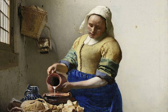 A new exhibit at the Louvre shows the Dutch painter as part of a dense network of painters cribbing from and riffing off each other