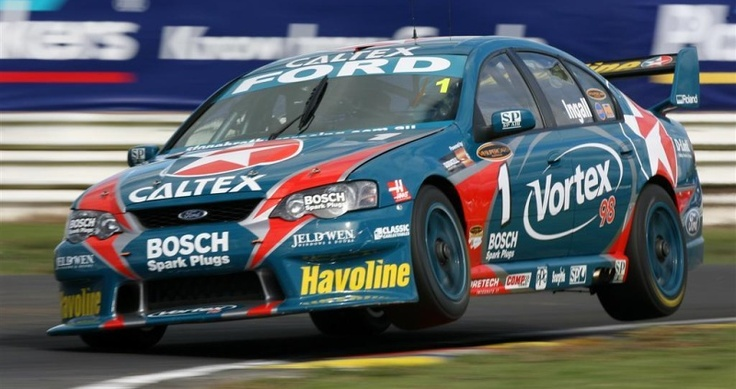 #RussellIngall getting air in the #Falcon