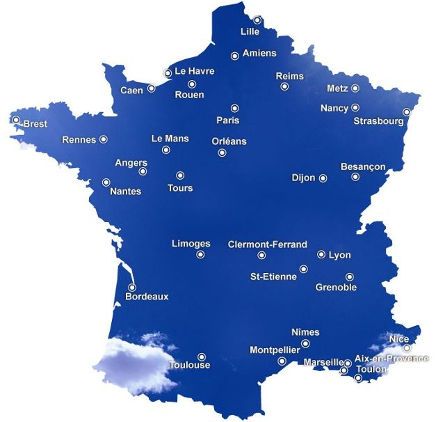 52 best PERSO images on Pinterest | Map of france, Blank cards and Cartography