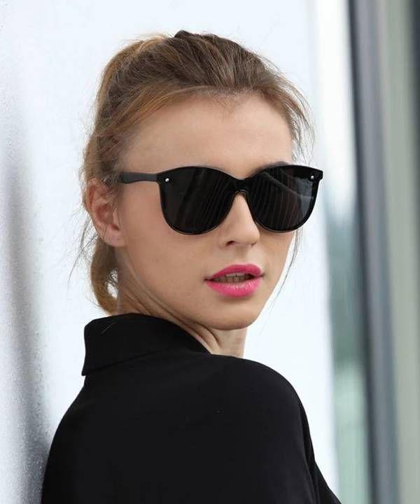 eb6d4430fc5e6 Promoção! Óculos de sol Feminino preto. A moda do óculos de sol ...