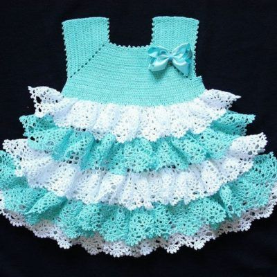 Free Crochet Baby Dress Patterns Easy : 17 Best ideas about Crochet Baby Dresses on Pinterest ...