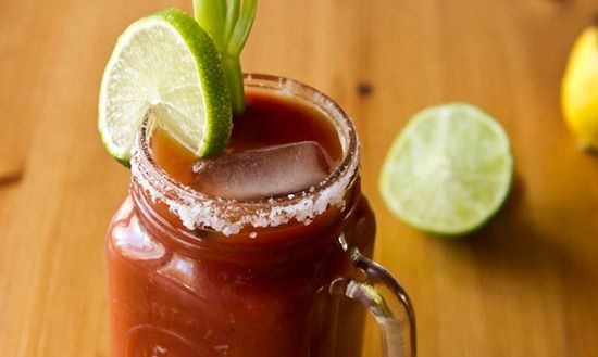 One Clamato coming right up!  Love the change up, clam juice!