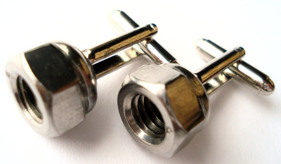 Hardware Cufflinks On Sale Now Gift Box Included by Mancornas, $19.95