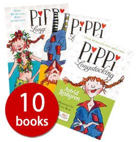 Pippi Longstocking remains one of the best-loved characters in children's literature and this 10-book collection is great for introducing young readers to even more of Astrid Lindgren's funny and feisty characters, as well as amusing them with classic Pippi escapades.