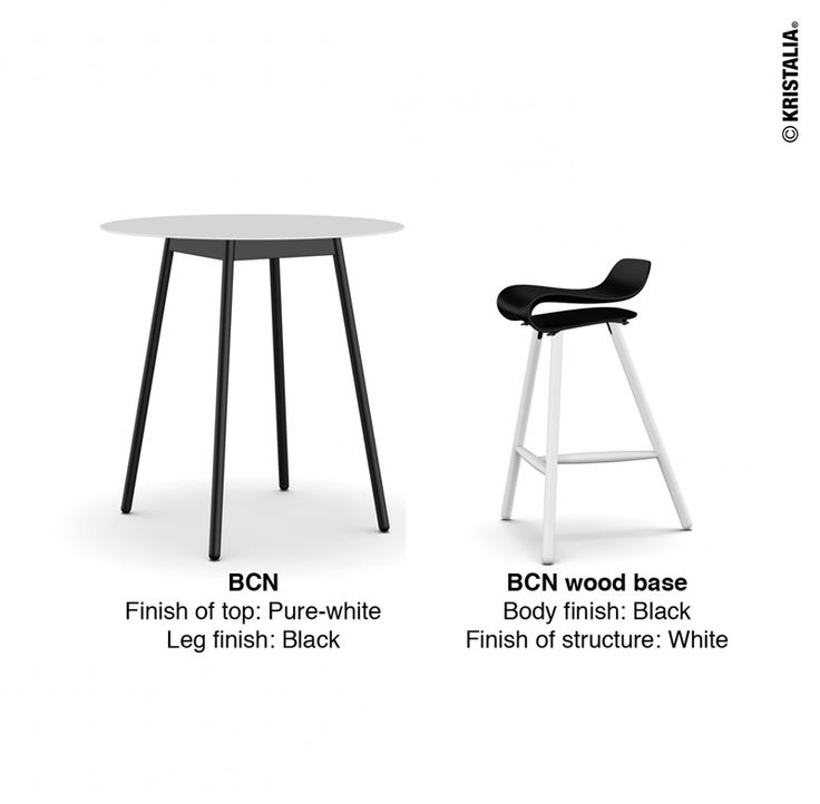 Today we suggest a black and white #mondayidea made through our website with BCN table and BCN wood base!!  You can make your own configuration at  http://www.kristalia.it #bcn #designtable #chairdesign #kristalia #configurator #mondayidea #blackandwhite