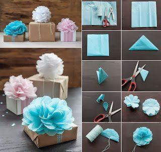 creatief besparen en meer: rozetten maken van servetten