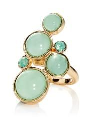 #AdditionElleOntheRoad round glass ring