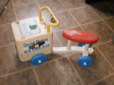The Playskool Good Humor Ride On Ice Cream Truck.  My mom still has this at her house and the kids LOVE it!