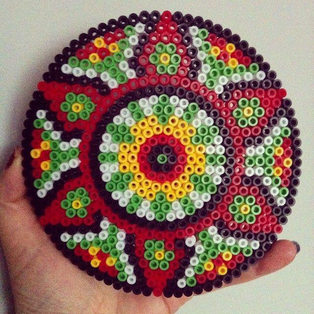 Mandala hama beads by espiralpunk
