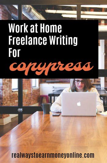 All About Working From Home As A Freelance Writing For CopyPress Reputable Company