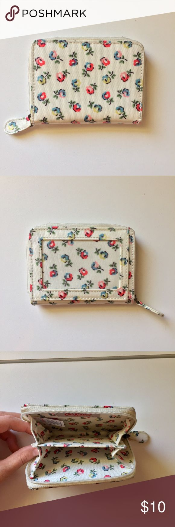 Cath Kidston Wallet Small Cath Kidston Wallet! I bought this in London a few years ago and only used it a few times! It is still in great condition!  Make me an offer!! Cath Kidston Bags Wallets