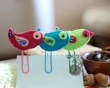 Felt Bird Bookmarks