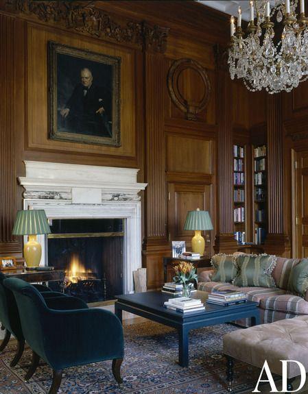 British Embassy Residence Washington DC By Brown Davis Interiors Inc