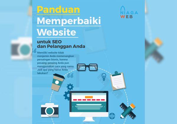 Benarkah kita harus memperhatikan website kita? 54% konsumen di Indonesia menggunakan internet untuk mencari referensi sebelum memutuskan untuk melakukan pembelian atau transaksi. Dengan demikian, tentu saja kita akan kehilangan banyak peluang penjualan jika tidak memperhatikan website kita sebagai ujung marketing online.