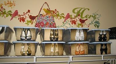 Roundup: Good Organizational Ideas (for cheap!): Organizations Ideas, Stores Crafts, Dollar Stores, Blog Archives, Closet Organizations, Organizational Ideas, Shoes Organizations, Shoes Storage, Closet Ideas