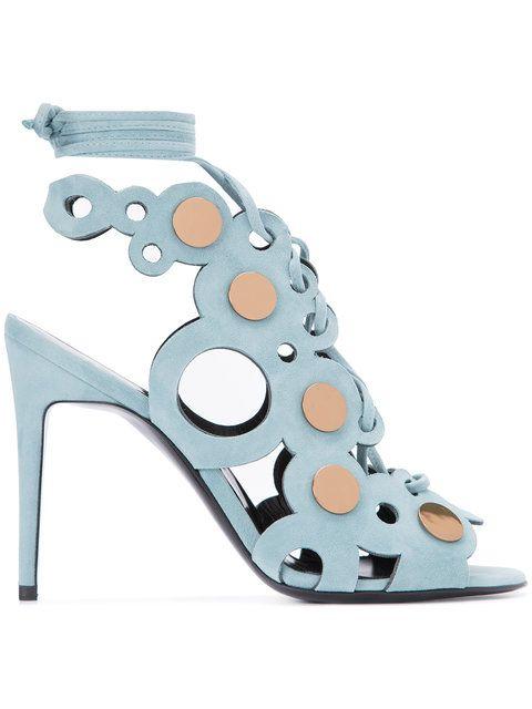 Shop Pierre Hardy Penny lace sandals.