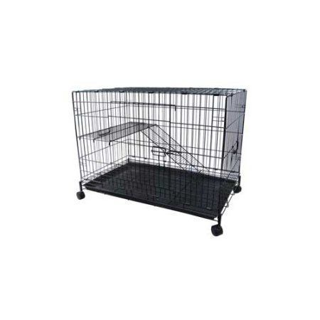 YML 2-Level Small Animal Chichilla Cat Ferret Cage, Black http://www.catsonyards.com/product-category/cages/