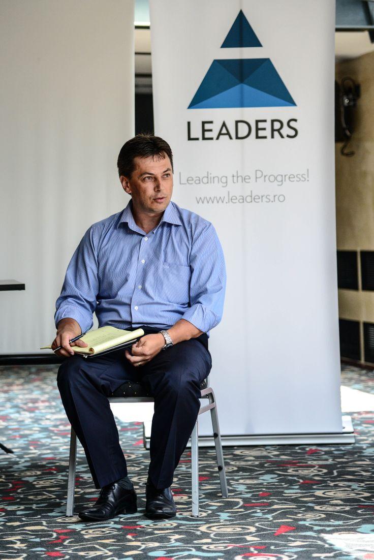 Daniel Malutan, General Manager CSI Romania la LEADERS School editia a 12-a. August 2013, Predeal #leadersschool