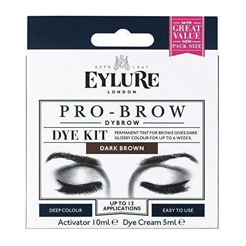 Eyelure Dylash Teinture Permanente des Cils et des Sourcils 45 Jour Brun: Kit professionnel Teinture permanente pour sourcils Jusqu'à 12…