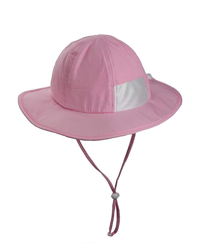 ZZLAY Wide Brim Sun Hat SPF 50+ UV Protection Breathable Adjustable Cap for  Baby Toddler 92604b9a3b0