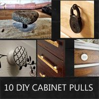 17 best images about diy handles knobs on pinterest - Diy kitchen cabinet knobs ...