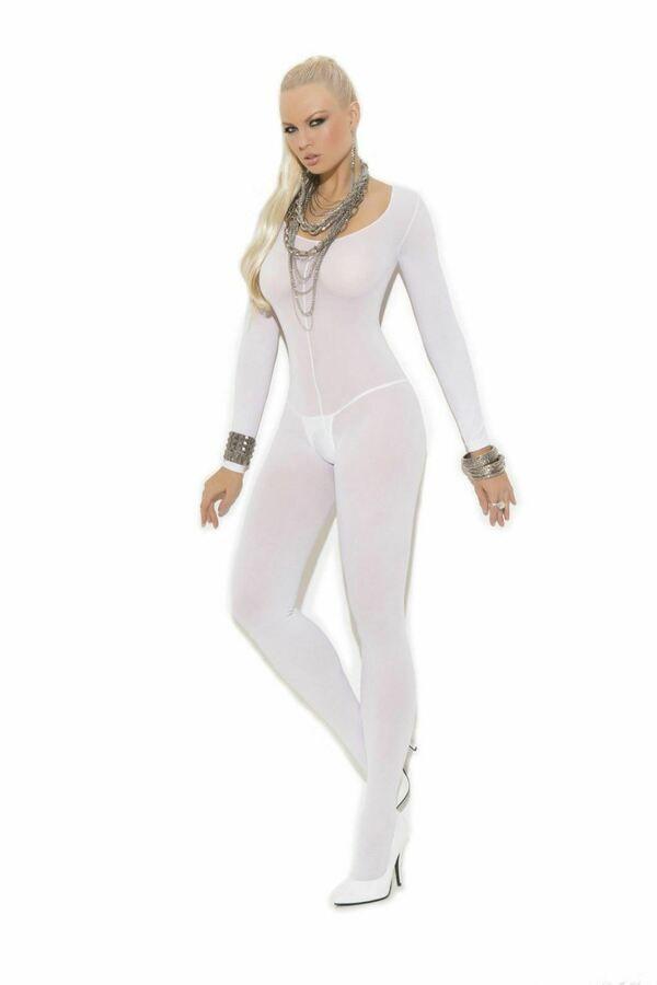 Fishnet Body Stockings Sleepwear Adult New Bodysuit Women/'s Lingerie Babydoll US