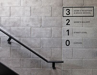 #signage Simple and Clean