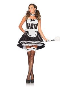 French Maid Darling Adult Womens Costume - 372442 | trendyhalloween.com