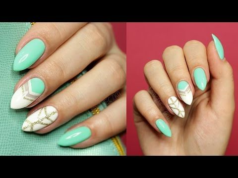 💅 WIOSENNY MANICURE HYBRYDOWY | Negative Space | SEMILAC 💅 - YouTube