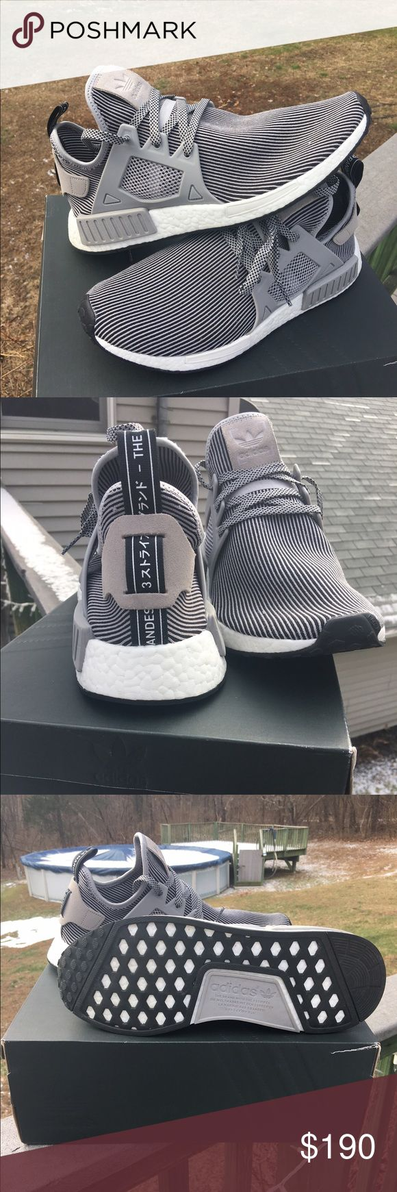 Like new, very rare grey NMDs Adidas NMDs, grey size 12 Adidas Shoes Athletic Shoes