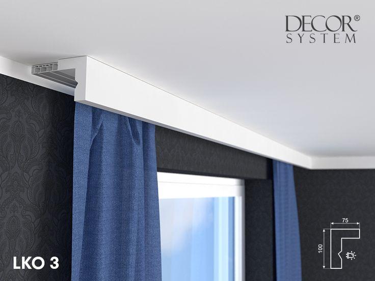 13 besten gardinenschiene mit blende bilder auf pinterest. Black Bedroom Furniture Sets. Home Design Ideas