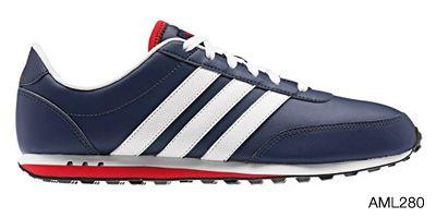 Adidas Men V Racer Navy / Dark blue #Footgear #Willowbridge