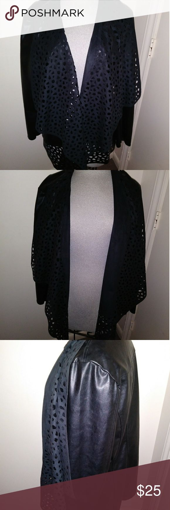 "Faux Leather Jacket SALE !!! This Jacket is ""BRAND NEW"" Super Cute and Lightweight.. The inside is lined with a soft suede material....... Size 2x amx Jackets & Coats"