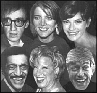 astrological portrait of Sagittarius  Woody Allen, Bette Midler, Dick Van Dyke, Caroline Kennedy, Teri Hatcher, Sammy Davis, Jr. #Strzelec #Sagittarius