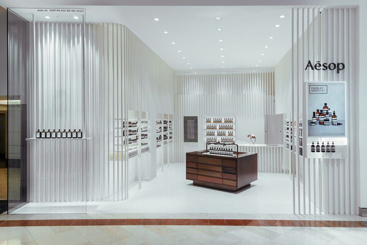 International winner – Aesop KLCC by Russell & George. Photo by Funkydali.