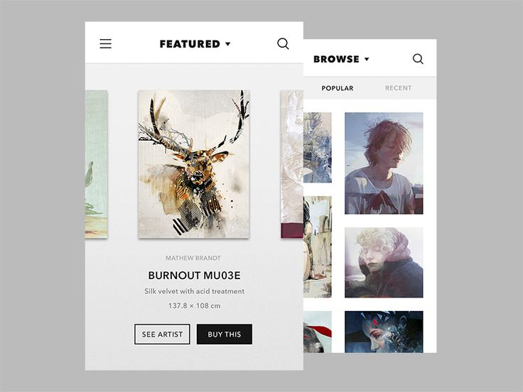 I've been thinking about this idea for quite a long time, a gallery app and I wanted to make the concept of skeuomorphism meets the flat concept. And... I am still exploring on white and black mini...