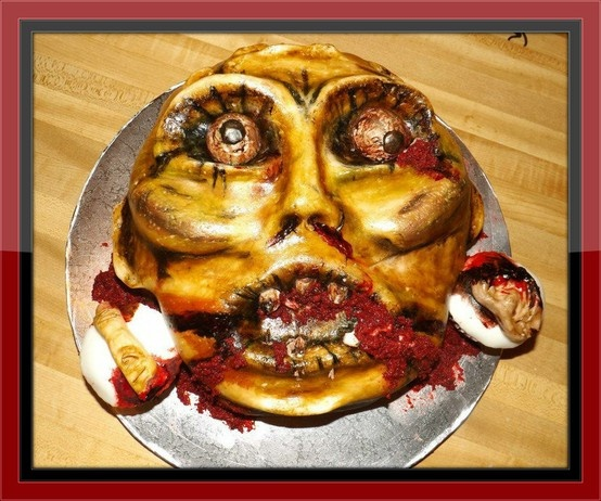 1000 Images About Creepy Cakes On Pinterest Zombie
