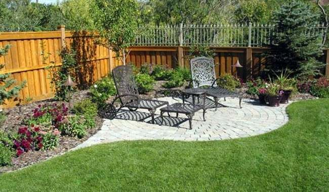 Corner Garden Ideas Landscaping For Privacy Corner Lot Backyard Garden Backyard Garden Design Backyard Garden Landscape