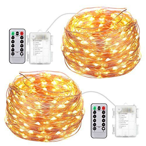 AMIR Led Fairy String Lights 164ft 50 Led Starry Fairy Lights With
