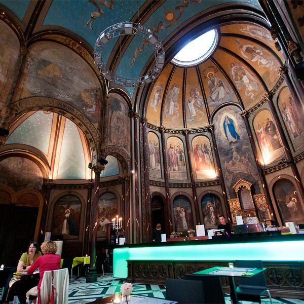 Restaurant and Concert Venue in a former Monastery, Antwerpen, Belgium
