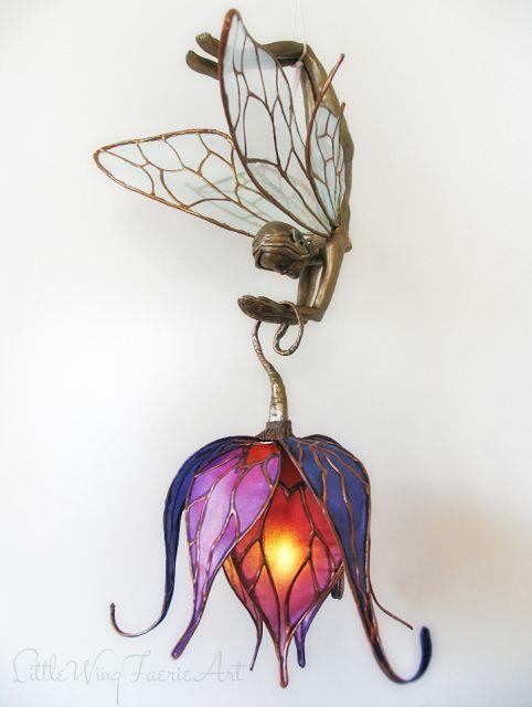 Little Wing Faerie Art Lamp More
