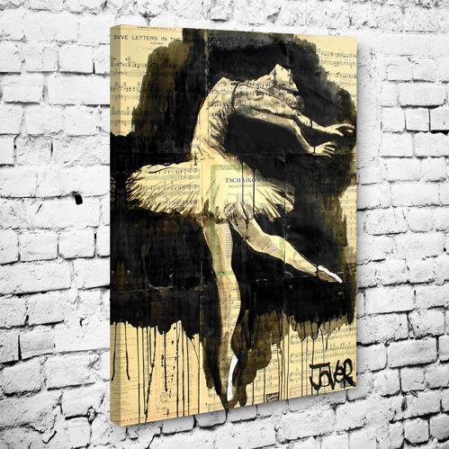 Jover Balet Tablo #müzik_kanvas_tablo #dans_kanvas_tablo #müzikvedanstabloları