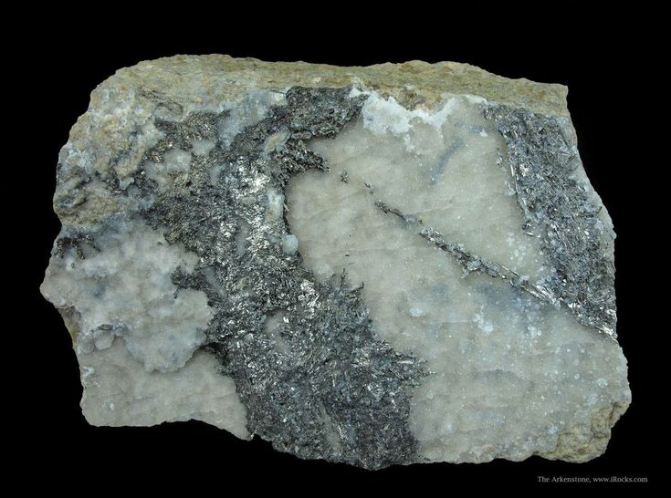The rare Silver Gold telluride Sylvanite discovered 1835 Sylvanite