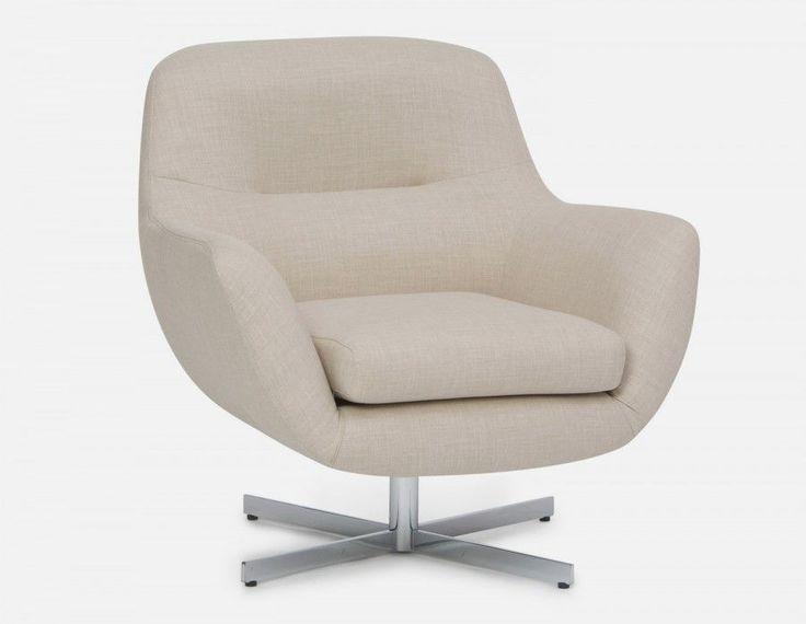 STEFAN - Swivel armchair - Beige